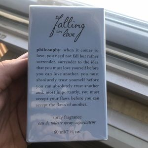 Other - Philosophy falling in love fragrance